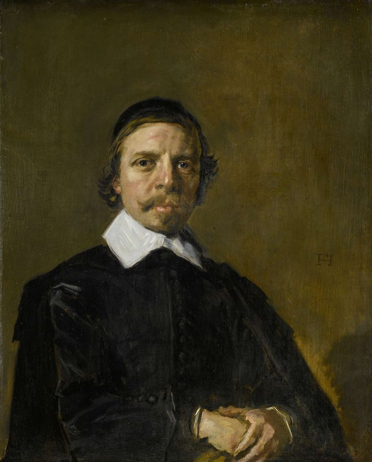 Portrait of a man, Frans Hals, ca. 1657 - ca. 1660