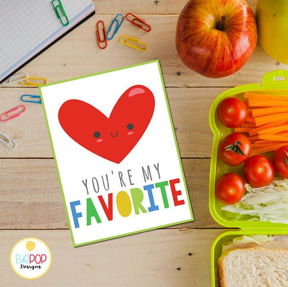 Lunch Box Cards, Printable Lunch Box Notes for Kids, Back to School Notes, Assorted Lunch Box Notes, Instant Download, Boy, Girl, Bright