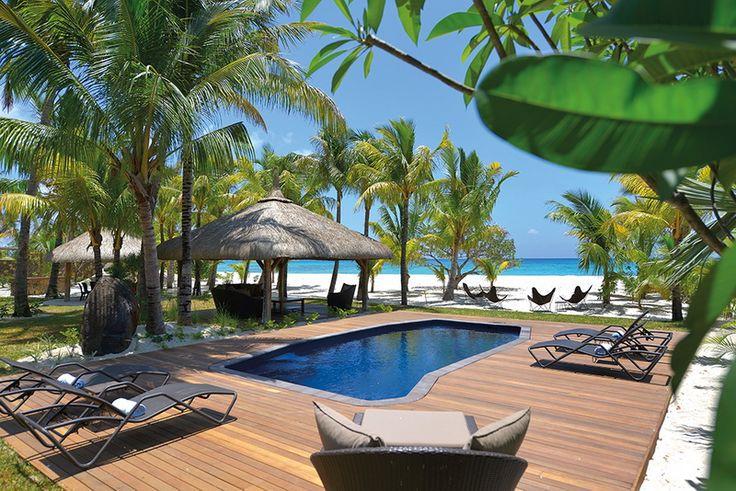 Dinarobin Villa Mauritius - pool view!