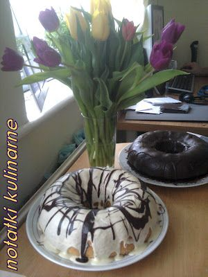 Babka czekoladowo-waniliowa