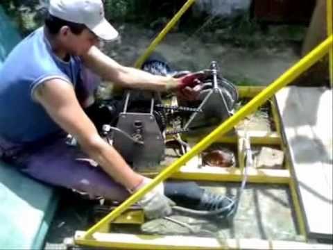 БУРИМ-УКБ: буровая установка своими руками, желонка - Онлайн видео - Бурение скважины, буровая установка, буровой станок