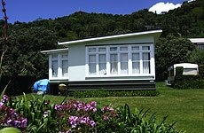New Zealand bach - typical old style New Zealand holiday home...no fuss ...lots of fun