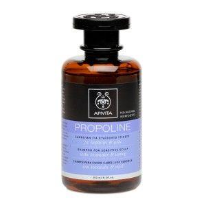 #APIVITA (Propoline miel-lavanda) Ideal para cuero cabelludo sensible o para combinar con un régimen de tratamiento especial del cabello.