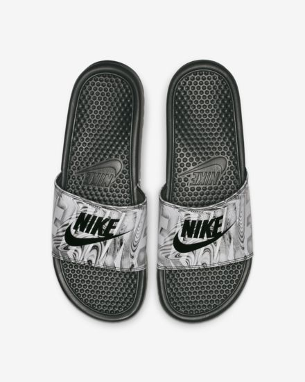 newest a6740 89f98 Claquette Nike Benassi JDI Printed pour Homme