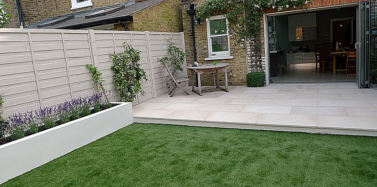 Artificial grass easi London Clapham planting Battersea
