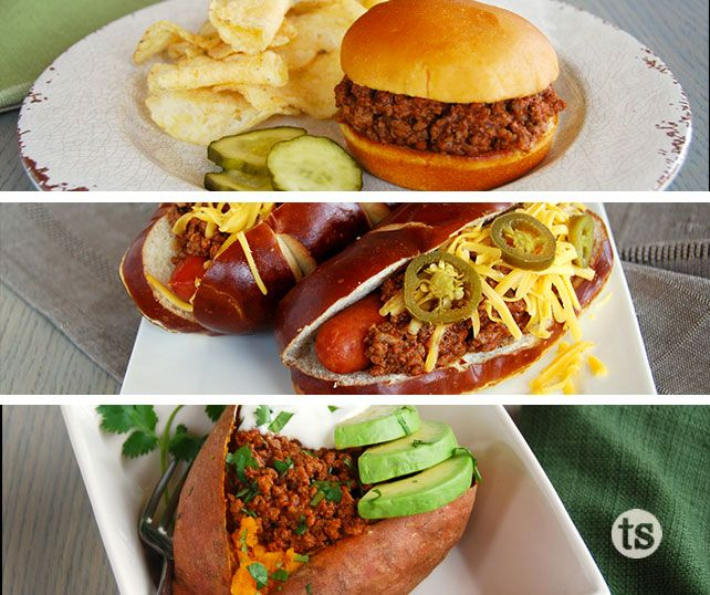 Sloppy Joes are a quick and easy dinner or lunch. But they can also be much more than sandwiches! │Wahoo Chili Sloppy Joes & More Recipe