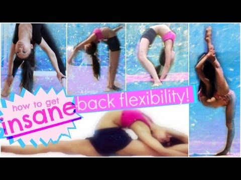 BACK STRETCHING: How to get INSANE, CONTORTIONIST Back and Spine Flexibility - YouTube