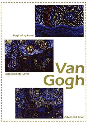 Van Gogh Art Projects for Kids:  The life and art of Vincent van Gogh is presented in an assembly to make art history come alive.  Voice tapes, music lyrics, and van Gogh dress-up props motivate the children to investigate his artistic genius.  In their classroom art activities texture is emphasized as they create their own oil pastel masterpieces of A Starry Night.