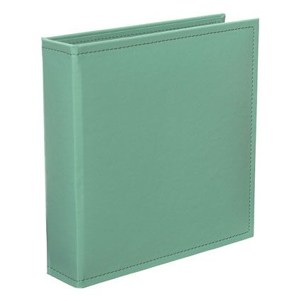 Store all of your special photos and memories with this beautiful Rain Faux Leather Album.