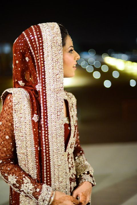"CLASSY & GORGEOUS. for more wedding looks, check out my ""South Asian Fashion -BRIDAL COUTURE"" board"