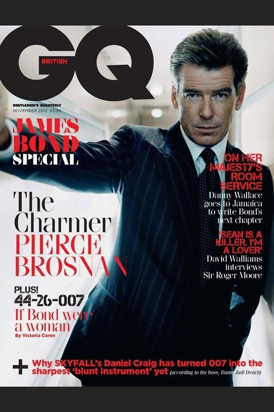 <b>The six most suave British men to have ever lived all get a cover on one of the six <i>GQ</i> James Bond special editions.</b>