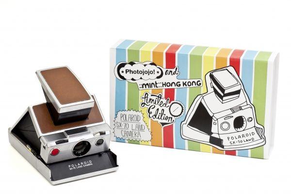 SX-70 Polaroid Camera - Fully restored original SX-70 folding Polaroid cameras, limited edition! ($350.00, http://photojojo.com/store)