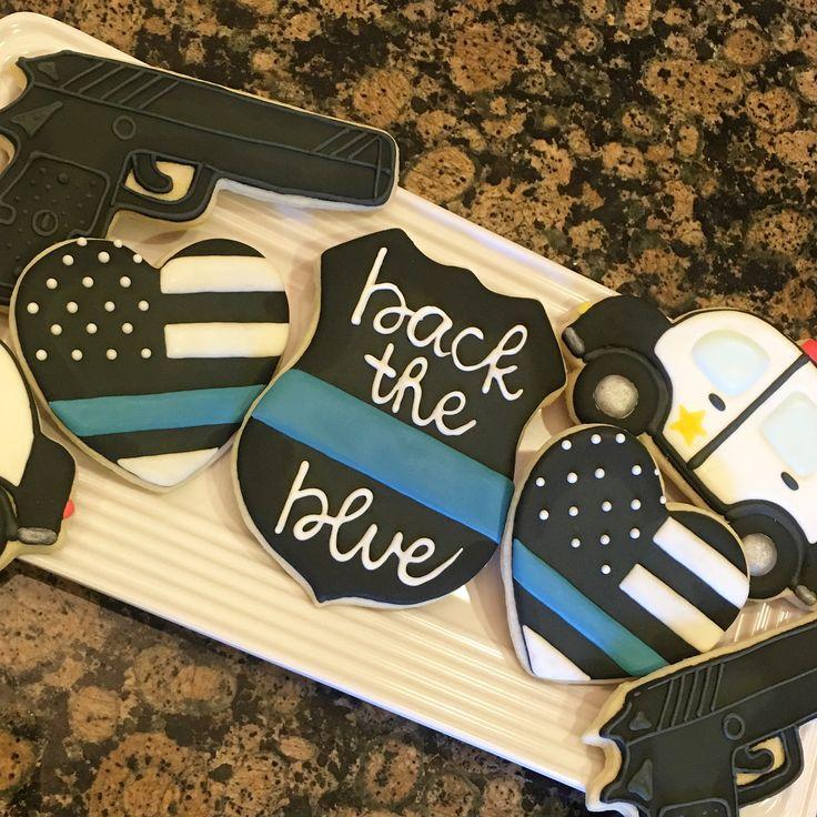 National Police Appreciation week cookies