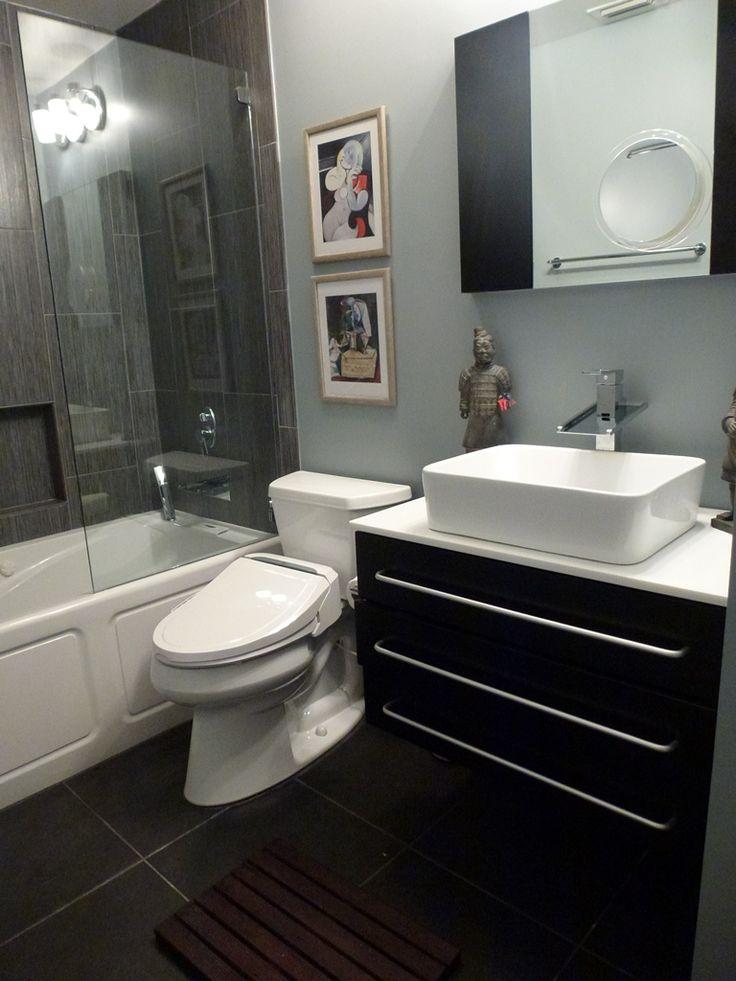 Asian contemporary bathroom vessel sink Contemporary