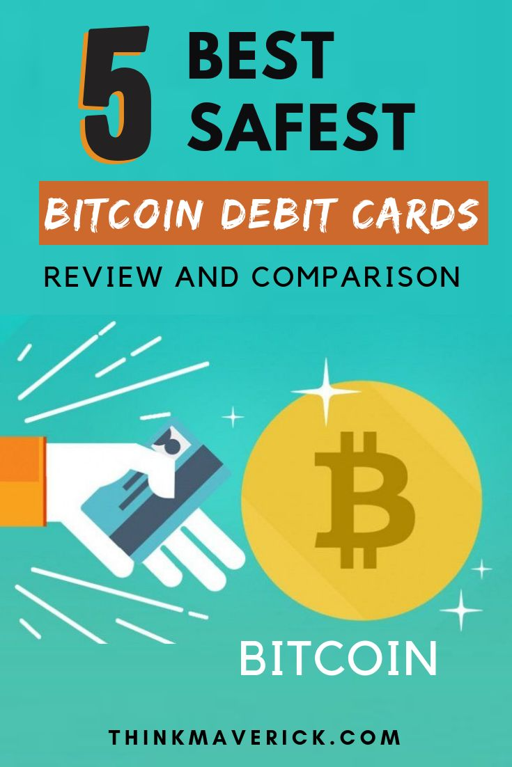 5 best bitcoin debit cards review and comparison cards