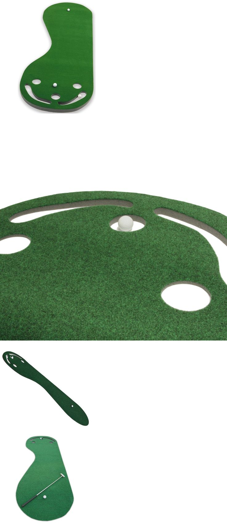 Putting Greens and Aids 36234: Practice Putting Green Golf Indoor Mat Training Aid Equipment Grassroots Par 3 -> BUY IT NOW ONLY: $41.93 on eBay!