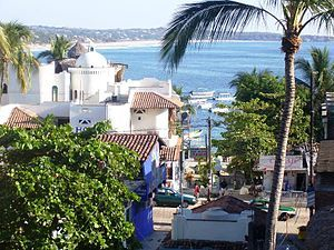 Puerto Escondido, Mexico  Loved this small town on west coast of Mexico