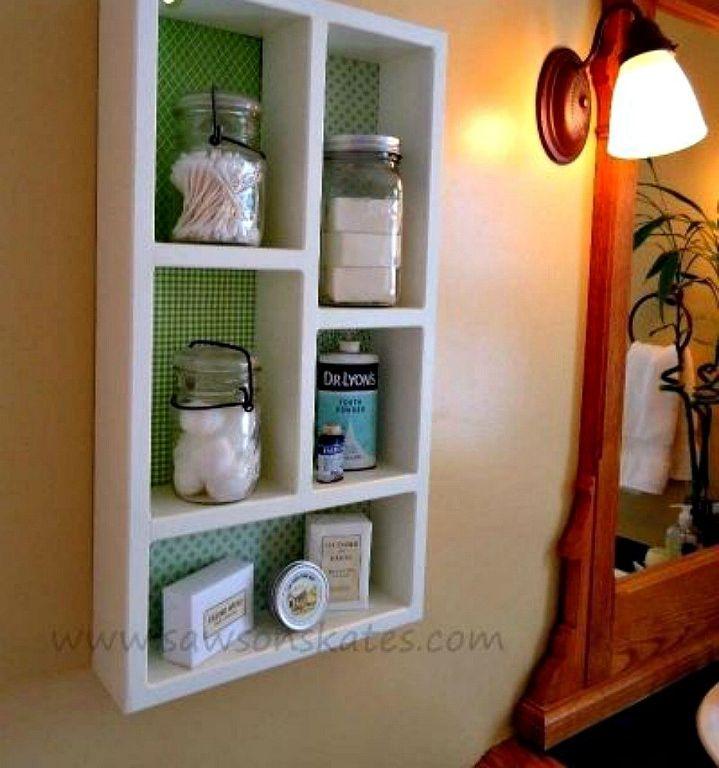 diy shelf ideas for bathroom%0A Replace Your Bathroom Shelves With These    Creative Ideas