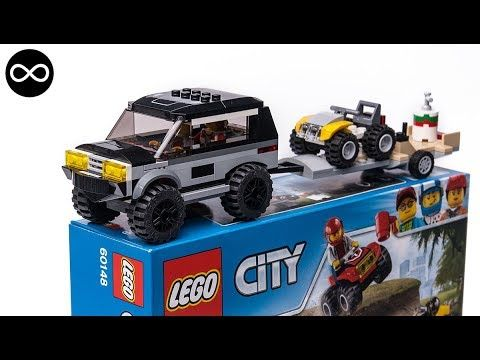 LEGO City set 60148 custom redesign model 4x4 SUV & ATV