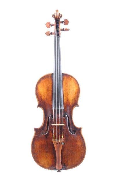 Violon Italien - Domenico Montagnana Exceptionnel violon de Domenico Montagnana fait à Venise, 1725 -1730. Le fond et la tête ont été reconstruit en copie vers 1800. La table de deux pièces est en épicéa,… - Apollium - 26/05/2015