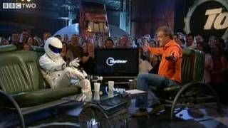 The Stig is revealed - Top Gear - BBC. I fangirled. Hard. He's actually quite handsome, The Stig. ;)