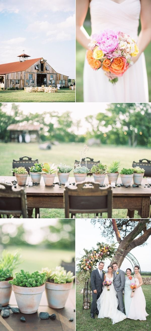 simple outdoor wedding ideas for summer%0A Colorful Outdoor San Antonio Wedding