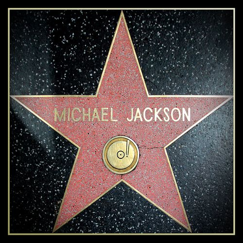 ♥STAR♥ 24 Michael Jackson STAR WALK OF FAME | Michael Jackson's star. Walk of fame, Hollywood.