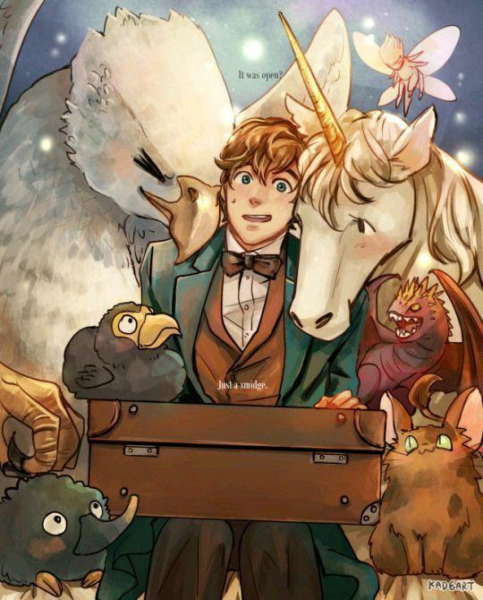 Newt Scamander & Fantastic Beasts