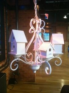 Chandelier Turned Bird House DIY | Thrift Town