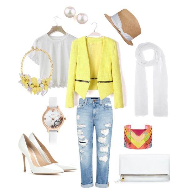 White & Yellow by Millaray!