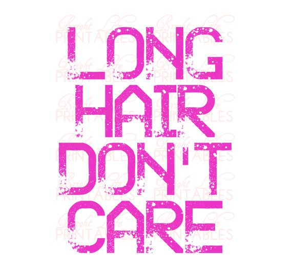 Long+Hair+Dont+Care+Iron+On+Printable++by+BrightLifePrintables,+$4.50