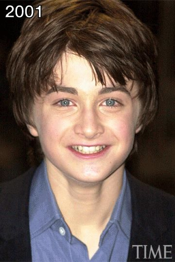 Watch Daniel Radcliffe Grow Up in One Surreal GIF | TIME