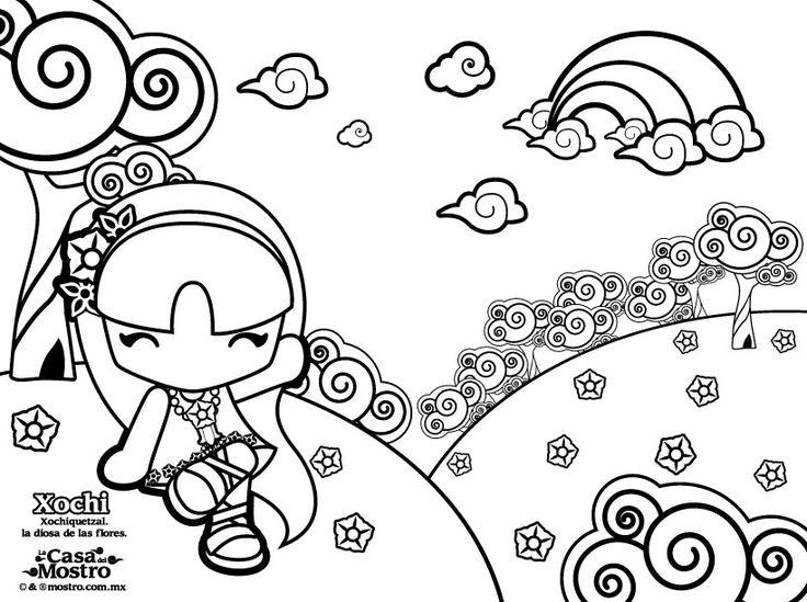 Fantástico Comida Kawaii Para Colorear Bosquejo - Ideas Para ...