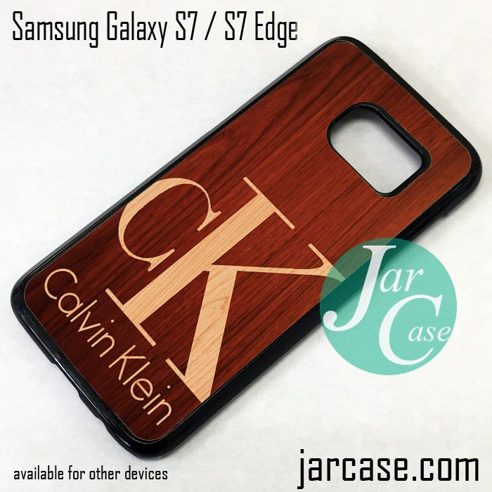 Calvin Klein Wood Phone Case for Samsung Galaxy S7 & S7 Edge