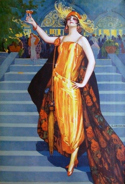 Cheers To The Glorious Art Deco Days! ~ by Gasper Camps
