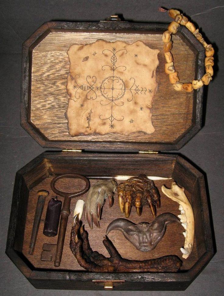 Skull Box VooDoo Spell Kit 2 by ~DETHCHEEZ on deviantART
