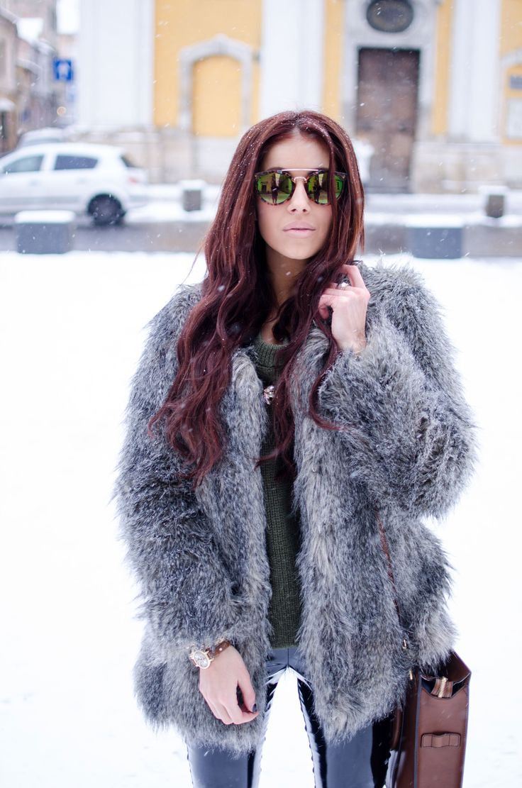 Winter Street Style Look, more photos here on my blog: http://alinaceusan.wordpress.com/2014/01/26/winter-bright-accents/