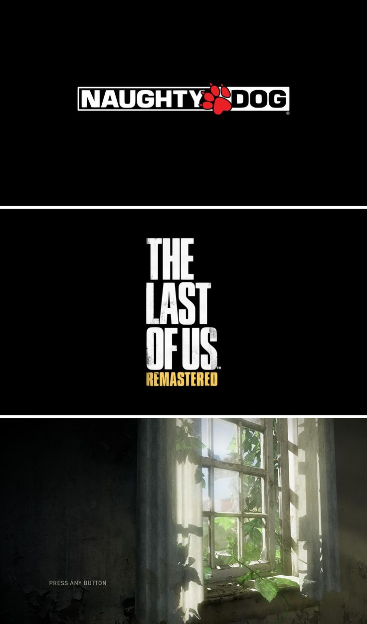 "Start Sequence UI (User Interface) for the game ""The Last of Us"" Copyright Naughty Dog – Screenshots taken on PS4 Console by Pinterest user: @fabianzaf"