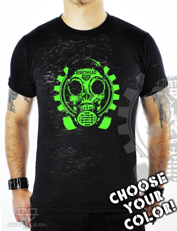Rivethead Burnout Shirt Male