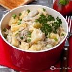 Salata de cartofi si ciuperci