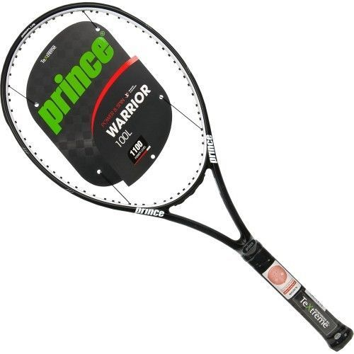 Racquets 20871: Prince Textreme Warrior 100L 4 3 8 Tennis Racket Racquet -> BUY IT NOW ONLY: $90 on eBay!