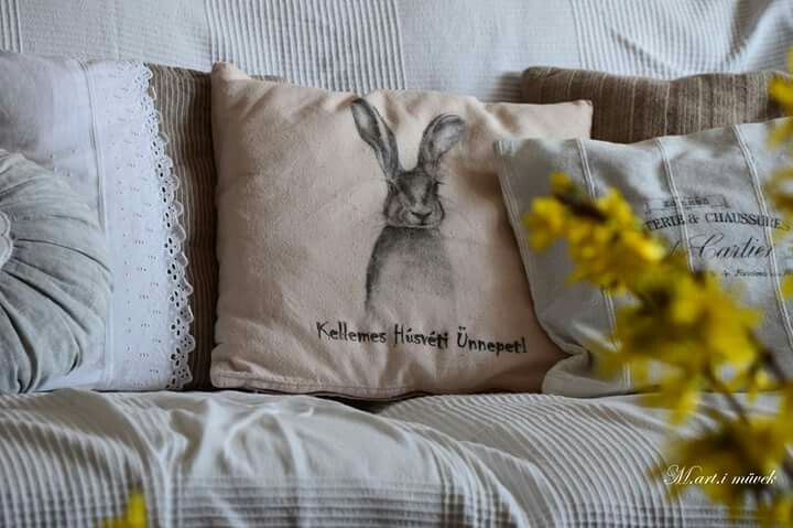 Easter cushion made by me. #M.art.i muvek