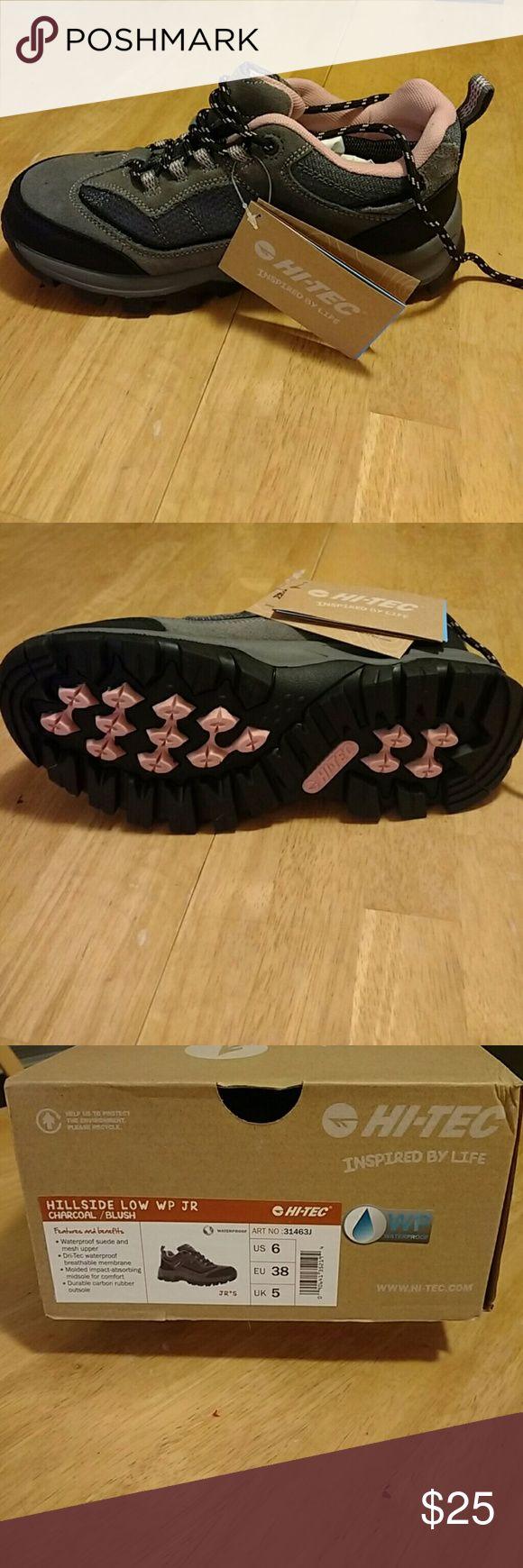 Hi-Tec waterproof hiking boots Hi-Tec low-rise waterproof hiking boots new in box Hi-Tec Shoes Rain & Snow Boots