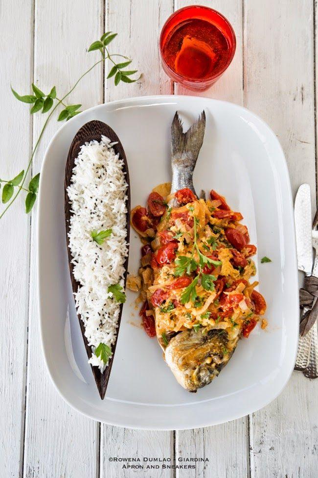 Filipino Fish Sarciado