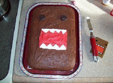 Domo Cake!! ^ ^