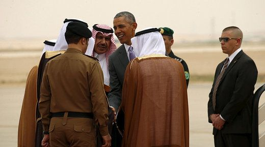 Martin Berger New Eastern Outlook Thu, 16 Jun 2016 11:56 UTC  © Kevin Lamarque / Reuters U.S. President Barack Obama is greeted upon his arrival at King Khalid International Airport for a summit m… https://winstonclose.me/2016/06/17/media-blackout-as-saudi-arabia-murders-thousands-of-civilians-in-yemen-by-martin-berger/