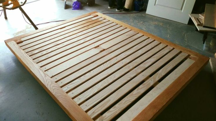 Platform Bed built by my super talented brother http://ift.tt/2jVtthW