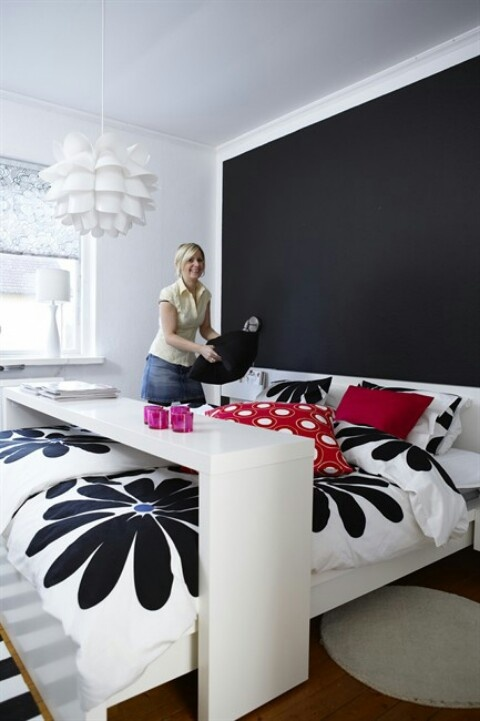 1000 images about bed table on pinterest malm occasional table bed table and ikea malm - Table at the end of the bed ...