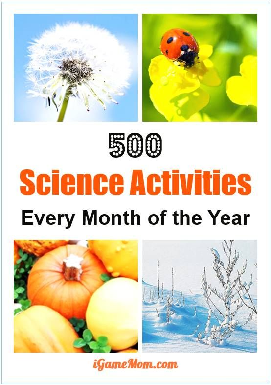 Love science but could not come up science activity ideas to do with kids? We have listed over 500 science activities for kids for each month of the year, with season themes and activities for kids from preschool kindergarten to high school. Great STEM re