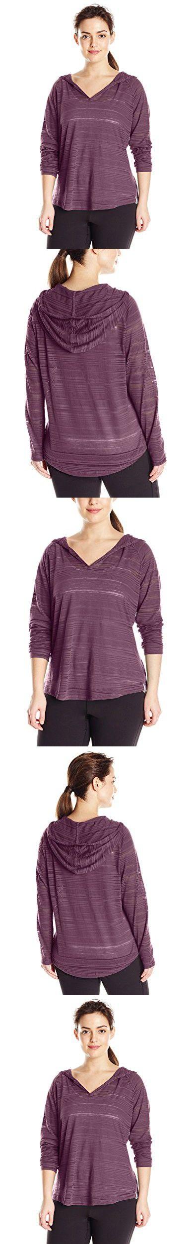 Columbia Women's Inner Luminosity Hoodie (Plus Size), Dusty Purple, 2X